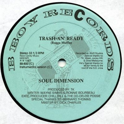Soul Dimension – Trash-An' Ready (VLS) (1987) (FLAC + 320 kbps)