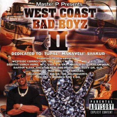 Master P Presents – West Coast Bad Boys II (CD) (1997) (FLAC + 320 kbps)