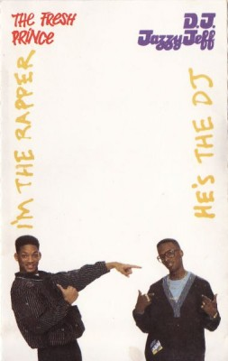 DJ Jazzy Jeff & The Fresh Prince – He's The DJ, I'm The Rapper (Cassette) (1988) (320 kbps)