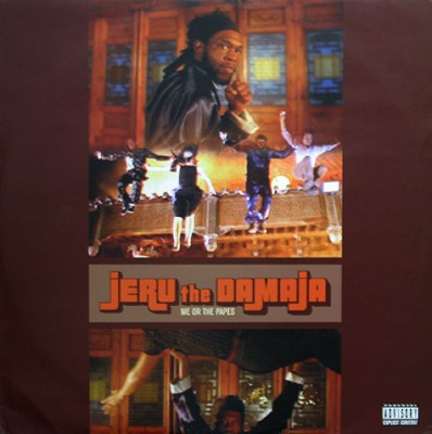 Jeru The Damaja – Me Or The Papes (1997) (UK VLS) (VBR)