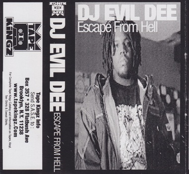 DJ Evil Dee – Escape From Hell (Cassette) (1997) (FLAC + 320 kbps)