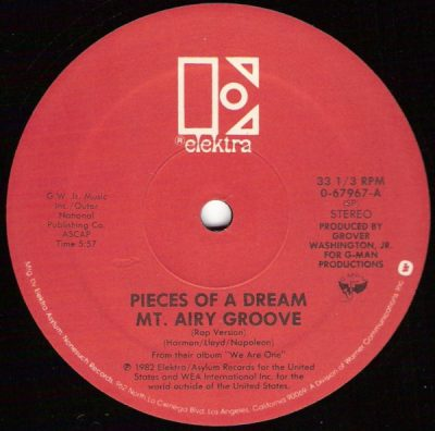 Pieces Of A Dream ‎– Mt. Airy Groove (VLS) (1982) (192 kbps)