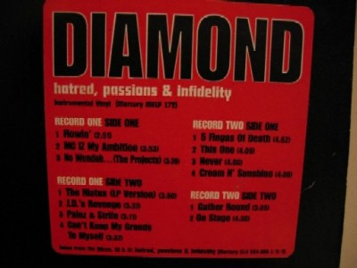 Diamond And The Psychotic Neurotics ‎– Stunts, Blunts & Hip Hop (Instrumentals) (1998) (Vinyl) (192 kbps)