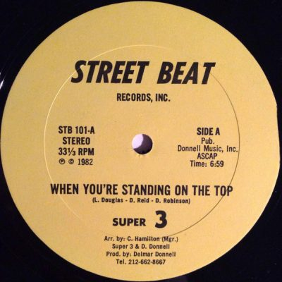 Super 3 – When You're Standing On The Top (VLS) (1982) (320 kbps)