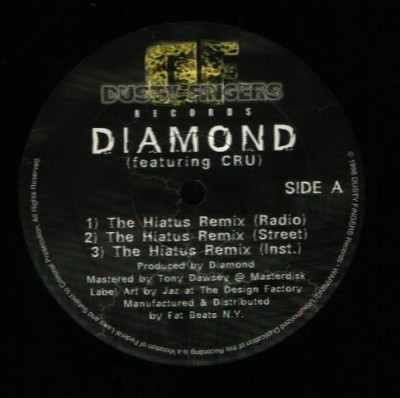 Diamond D – The Hiatus (Remix) (VLS) (1997) (VBR)