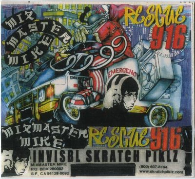 Mix Master Mike ‎– Rescue 916 (Cassette) (1996) (VBR)
