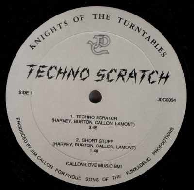 Knights Of The Turntables – Techno Scratch (1984) (VLS) (FLAC + 320 kbps)