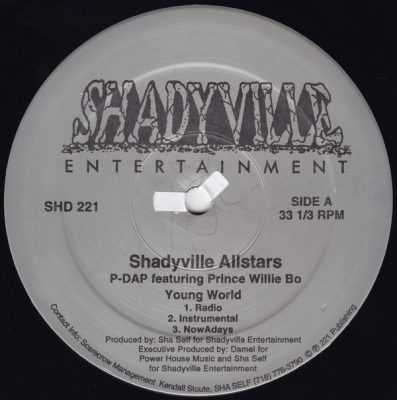 Shadyville All Stars – Young World / NowAdays (VLS) (1996) (FLAC + 320 kbps)