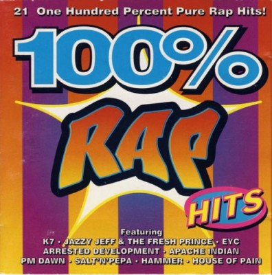 VA – 100% Rap Hits (CD) (1994) (FLAC + 320 kbps)