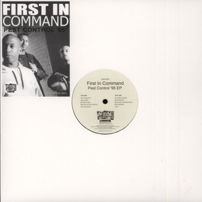 First In Command ‎– Pest Control '95 EP (Vinyl) (2013) (FLAC + 320 kbps)