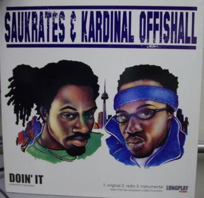 Saukrates & Kardinal Offishall / Defenders Of The Faith ‎- Doin' It / Metropolis (2002) (VLS) (320 kbps)