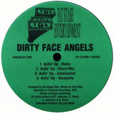 Dirty Face Angels – Actin' Up / MOElogical (VLS) (1999) (FLAC + 320 kbps)