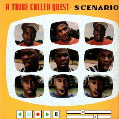 A Tribe Called Quest ‎- Scenario (CDS) (1992) (FLAC + 320 kbps)