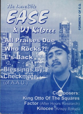 The Incredible Ease & DJ Kilocee – Who Rocks? EP (Vinyl) (1998) (FLAC + 320 kbps)