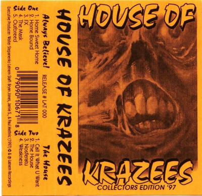 House Of Krazees – Collectors Edition '97 (Cassette) (1997) (FLAC + 320 kbps)
