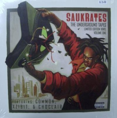 Saukrates ‎- The Underground Tapes Vol.1 EP (Vinyl) (1999) (320 kbps)