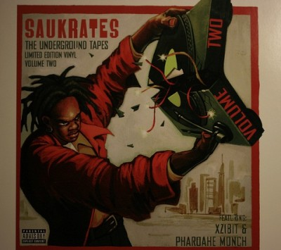 Saukrates ‎- The Underground Tapes Vol. 2 EP (Vinyl) (1999) (320 kbps)
