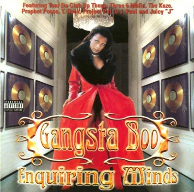 Gangsta Boo – Enquiring Minds (CD) (1998) (FLAC + 320 kbps)