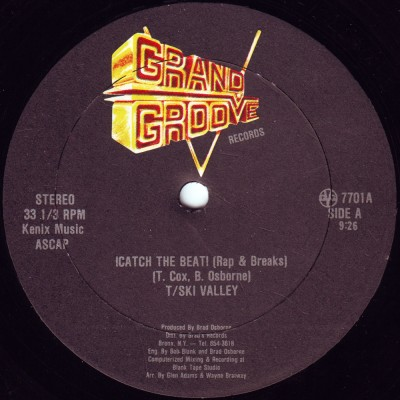 T-Ski Valley / Grand Groove Bunch – !Catch The Beat! / !Catch The Groove! (VLS) (1981) (FLAC + 320 kbps)