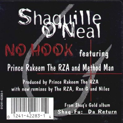 Shaquille O'Neal – No Hook (CDS) (1995) (320 kbps)
