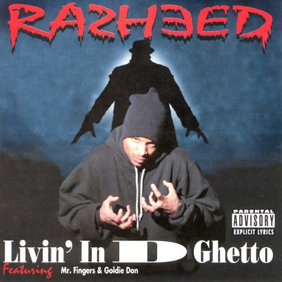 Rasheed ‎– Livin' In D Ghetto (CD) (1994) (320 kbps)