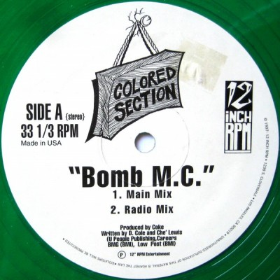 Colored Section – Bomb M.C. (VLS) (1997) (320 kbps)
