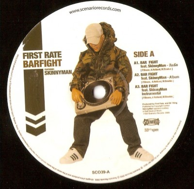 First Rate ‎– Bar Fight (2005) (12'') (320 kb/s)