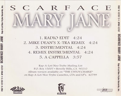 Scarface – Mary Jane (Promo CDS) (1997) (FLAC + 320 kbps)