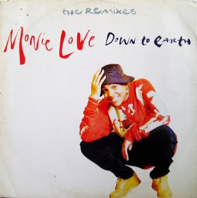 Monie Love – Down To Earth (Remixes) (CDS) (1990) (320 kbps)