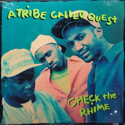A Tribe Called Quest ‎- Check The Rhime (CDS) (1991) (FLAC + 320 kbps)