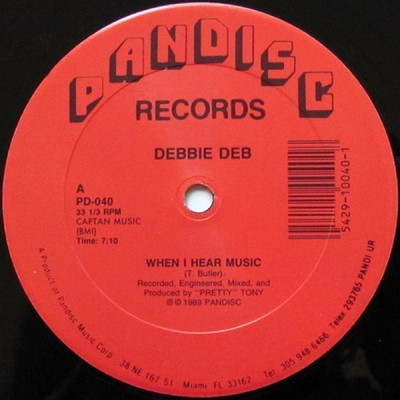Debbie Deb – When I Hear Music (Reissue) (VLS) (1983-1989) (FLAC + 320 kbps)