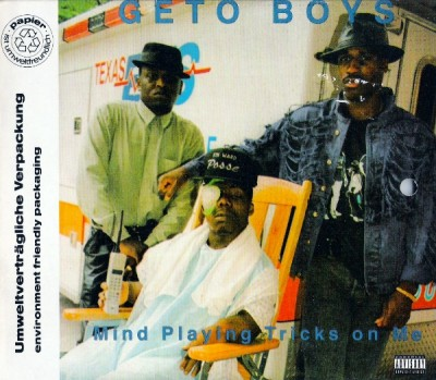 Geto Boys – Mind Playing Tricks On Me (German CDS) (1991) (FLAC + 320 kbps)