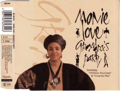Monie Love ‎– Grandpa's Party (1989) (CDM) (320 kbps)