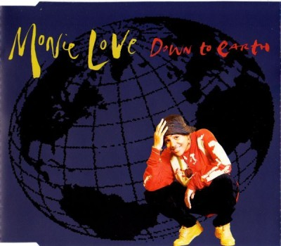 Monie Love ‎– Down To Earth (1990) (CDS) (320 kbps)