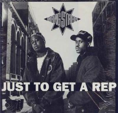 Gang Starr – Just To Get A Rep / Who's Gonna Take The Weight? (VLS) (1990) (FLAC + 320 kbps)