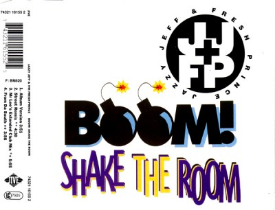 DJ Jazzy Jeff & The Fresh Prince – Boom! Shake The Room (CDM) (1993) (320 kbps)