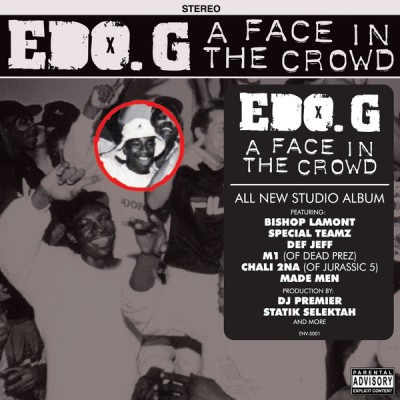Edo. G – A Face In The Crowd (CD) (2011) (FLAC + 320 kbps)