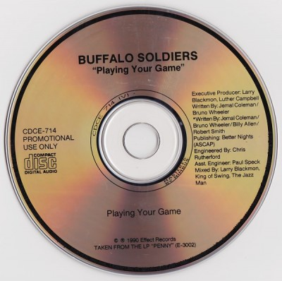 Buffalo Soldiers – Playing Your Game (Promo CDS) (1990) (320 kbps)