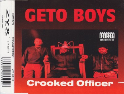 Geto Boys – Crooked Officer (CDS) (1993) (320 kbps)