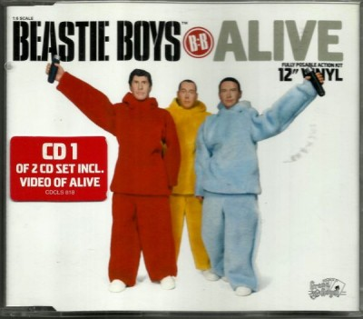 Beastie Boys – Alive (CD 1 of 2 CD set) (1999) (FLAC + 320 kbps)