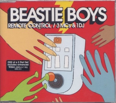 Beastie Boys – Remote Control / 3 MCs & 1 DJ (CD2 of a 2 part set) (1999) (FLAC + 320 kbps)