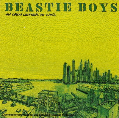 Beastie Boys – An Open Letter To NYC (Promo CDS) (2004) (FLAC + 320 kbps)
