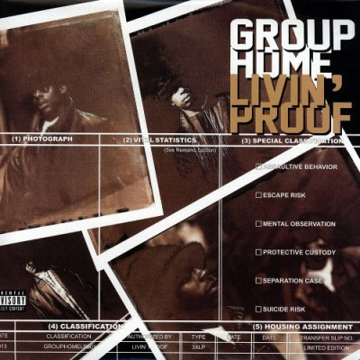 Group Home – Livin' Proof (Deluxe Limited Edition 3xLP) (1995-2013) (FLAC + 320 kbps)