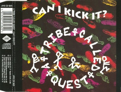 A Tribe Called Quest – Can I Kick It (CDS) (1990) (FLAC + 320 kbps)