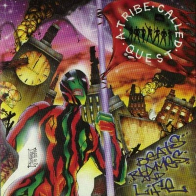 A Tribe Called Quest - Beats, Rhymes And Life (Japan Edition CD) (1996-2007) (FLAC + 320 kbps)