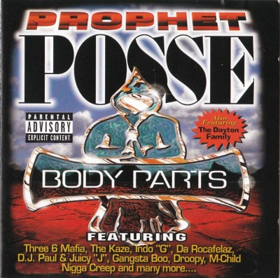 Prophet Posse – Body Parts (CD) (1998) (FLAC + 320 kbps)