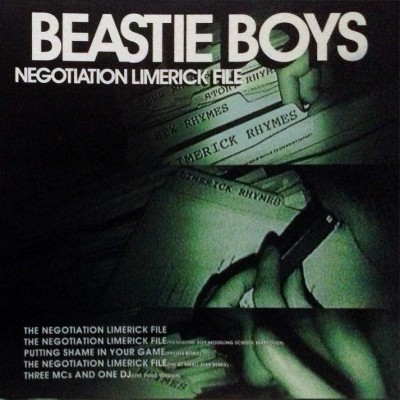 Beastie Boys – Negotiation Limerick File (Japan CDS) (1999) (FLAC + 320 kbps)