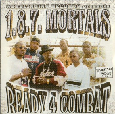 1.8.7. Mortals – Ready 4 Combat (CD) (2000) (FLAC + 320 kbps)