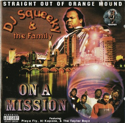 DJ Squeeky & The Family – On A Mission (CD) (1997) (320 kbps)