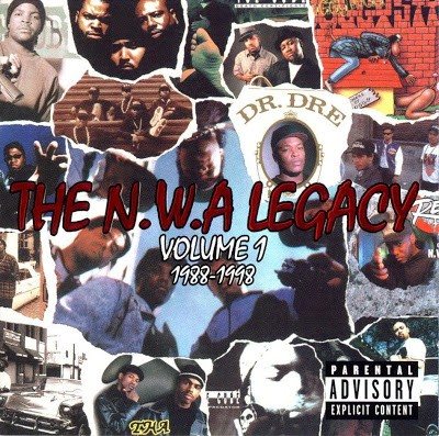N.W.A – The N.W.A. Legacy Volume 1: 1988-1998 (2xCD) (1999) (FLAC + 320 kbps)